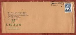 Brief, Veterinaerschule, Charlottenlund Nach Frankfurt 1973 (91646) - Covers & Documents