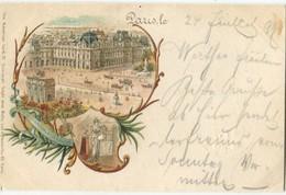 75 Paris Précurseur 1899 Carrousel Du Louvre  American Card - Otros