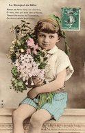 """Le Bouquet De Bébé Enfant """"mettez Ces Fleurs....."""" IRN Bergeret - Bergeret"""