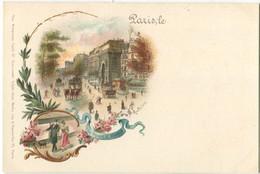 75 Paris Précurseur Porte Saint Martin American Card - Otros