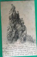 """Cpa, 1900,  """"au Sommet"""", éditions J.J 3003,écrite En Juin 1900, Cachets Jeoire (Savoie,73) Annemasse (Haute Savoie 74) - Alpinisme"""
