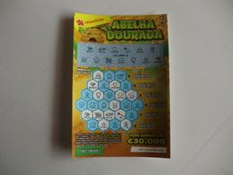 Loterie Lottery Loteria Lotaria Instant Instantânea Raspadinha Jogo Nº 409 Abelha Dourada Portugal - Loterijbiljetten