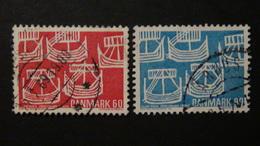 Denmark - 1969 - Mi:DK 475-6 Sn:DK 454-5 Yt:DK 486-7 O- Look Scan - Usati