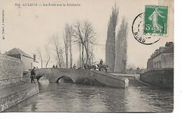 AULNOY - Le Pont Sur La Rhonelle - Aulnoye