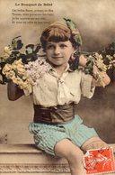 """Le Bouquet De Bébé Enfant """"ces Belles Fleurs....."""" IRN Bergeret - Bergeret"""