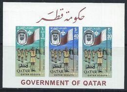 Qatar YT Bloc 1 XX / MNH Scoutisme - Qatar