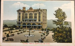 Cuba 1930.  Hotel Venus Santiago De Cuba. - Cuba