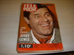 TELE POCHE 272 28.04.1971 Jerry LEWIS Arsène LUPIN Pierre BONTE JL TRINTIGNANT - Television