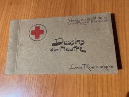 Louis RAEMAEKERS - Dessins D'un Neutre , Carnet Complet De 21 Cartes Au Profit De La CROIX ROUGE  (port Offert ) - Croix-Rouge