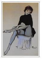 Brenot Femme Pin Up Patinage AFP 148 - Autres Illustrateurs