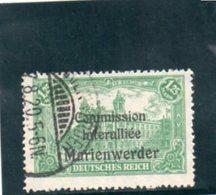 MARIENWERDER 1920 O - Abstimmungsgebiete