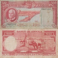 Angola / 500 Escudos / 1970 / P-97(a) / VF - Angola