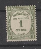 TAXE N° 55 NEUF** - 1859-1955 Postfris