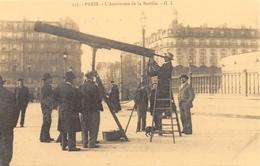 PARIS - L'Astronome De La Bastille - Téléscope - Cecodi N'P 141 - France