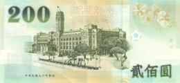 CHINA P. 1992 200 Y 2001 UNC - Taiwan