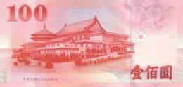CHINA P. 1991 100 Y 2000 UNC - Taiwan