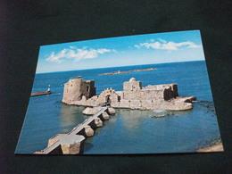 FARO LE PHARE LIGHT-HOUSE  LEUCHTTURM  LIBANO LEBANON SIDON THE SEA CASTLE - Castelli