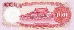CHINA P. 1989 100 Y 1987 UNC - Taiwan