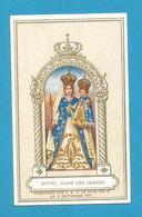 IMAGE PIEUSE  HOLY CARD  IMMAGINETTE  SACRE   SANTINO Saint-Georges NOTRE DAME DES GARDES Chemillé-en-Anjou - Images Religieuses
