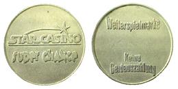 03047 GETTONE TOKEN JETON STAR CASINO SUPER CHANCE WEITERSPIELMARKE KEINE  GELDAUSZAHLUNG - Casino