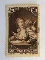 YT 446 (°) Oblitéré 1939, Au Profit Du Musée Postal (côte 3,85 Euros) - Gebruikt
