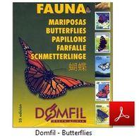 DOMFIL MARIPOSAS BUTTERFLIES PAPILLON FARFALLE STAMPS CATALOG [PDF VERSION]  ★★REDUCED PRICE★★ - Farfalle