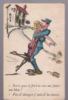 4  Cpa  Carte écrite  .  Collection Comique  Humour Militaire - Humoristiques