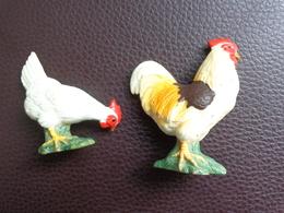 Lot De 1 Poule Et 1 Coq  Schleich - Andere