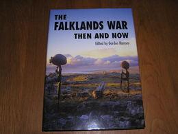THE FALKLANDS WAR Then And Now Guerre Argentine UK Royaume Uni Argentina 1982 Islands British Task Force Marine Aviation - Books, Magazines, Comics