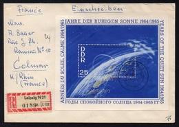 RDA - DDR / 1964  BLOC # 15 SUR LETTRE RECOMMANDEE POUR COLMAR (ref LE3993) - [6] Democratic Republic
