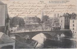 57 - METZ - PONT ST GEORGES ET THERMES - NELS SERIE DELFT N° 4 - Metz