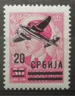 Serbie 1942 / Yvert Poste Aérienne N°20 / * - Serbien