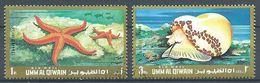 Umm Al Qiwain Poste Aérienne 1971 Coquillages Oblitéré ° - Umm Al-Qiwain