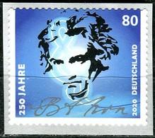 BRD - Mi 3520 Gestanzt Aus Rolle - ** Postfrisch (K) - 80C          Ludwig Van Beethoven - Ausgabe 02.03.2020 - Neufs