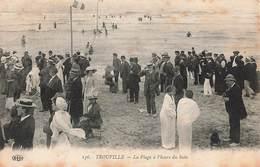 14 Trouville La Plage à L' Heure Du Bain - Trouville