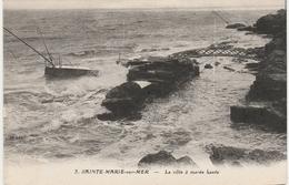 SAINTE MARIE SUR MER  -   LA CÔTE à Marée Haute         Editeur ,J.NOZAIS  N° 3 - Frankreich