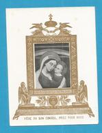 IMAGE PIEUSE SANTINO DORATA BUON CONCILI BON CONSEIL DOREE DORATA C - Images Religieuses