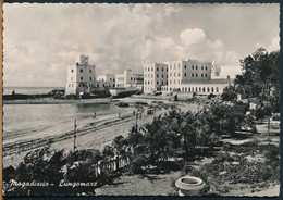°°° 19100 - SOMALIA - MOGADISCIO - LUNGOMARE - 1955 With Stamps °°° - Somalia