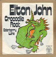 "7"" Single, Elton John - Crocodile Rock - Disco, Pop"