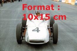 Reproduction Photographie Ancienne Dela Pilote Marie-Thérèse Filippis En Porsche F2 Au Grand Prix De Monacoen 1959 - Repro's