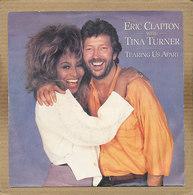 "7"" Single, Eric Clapton & Tina Turner - Tearing Us Apart - Disco, Pop"