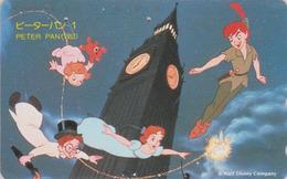 TC JAPON / 110-174706 - DISNEY - Série Film 1/3 - PETER PAN & TINKERBELL Fée Clochette 1 - JAPAN Movie Phonecard - 16/45 - Disney