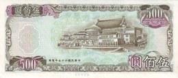 CHINA P. 1987 500 Y 1981 UNC - Taiwan