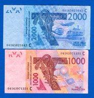 Burkina  Faso  2  Billets - Burkina Faso