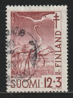 FINLAND - 1951 - ( European Cranes ) - As Scan - Finland