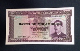 Mocambique, 22,3,1967- 500 Escudos. UNC. - Mozambique