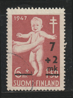 FINLAND - 1947 - ( Medical Examination Of Infants - Surcharged ) - As Scan - Finland