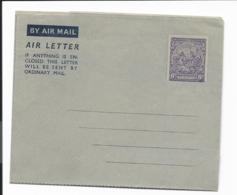 Barbados  LF 1  **  -  6 D Wappenzeichnung Aerogramm - Barbados (1966-...)