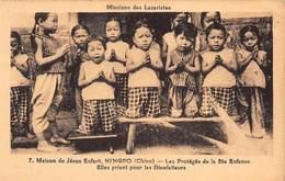 CPA CHINE - Maison De Jésus Enfant, NINGPO ( Chine ) - Les Protégés De La Ste Enfance - China
