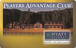 Hyatt Regency Casino - Lake Tahoe, NV - Slot Card (BLANK) - Casino Cards